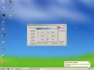 WinPE XP with PEStartup