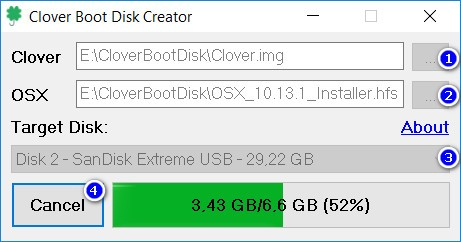 Create macOS Mojave bootable USB from Windows with Clover Boot Disk