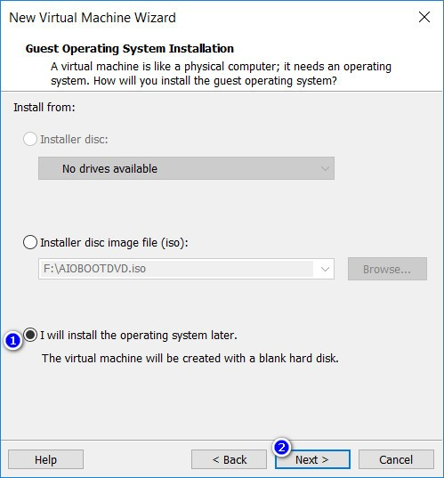How to boot from USB in VMware Workstation in UEFI mode