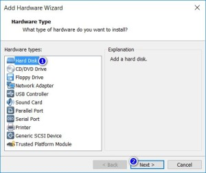 VMware Workstation - Hardware Type