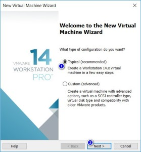 VMware Workstation - New Virtual Machine