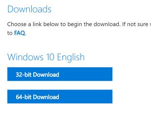 Cách tải Win 10 ISO từ trang chủ Microsoft