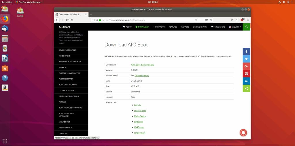 Tạo bộ cài Ubuntu trên USB để chạy Ubuntu trên USB