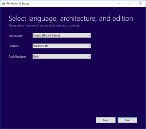 Tải Win 10 ISO bằng Media Creation Tool