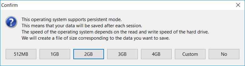 How to make Ubuntu bootable USB persistent